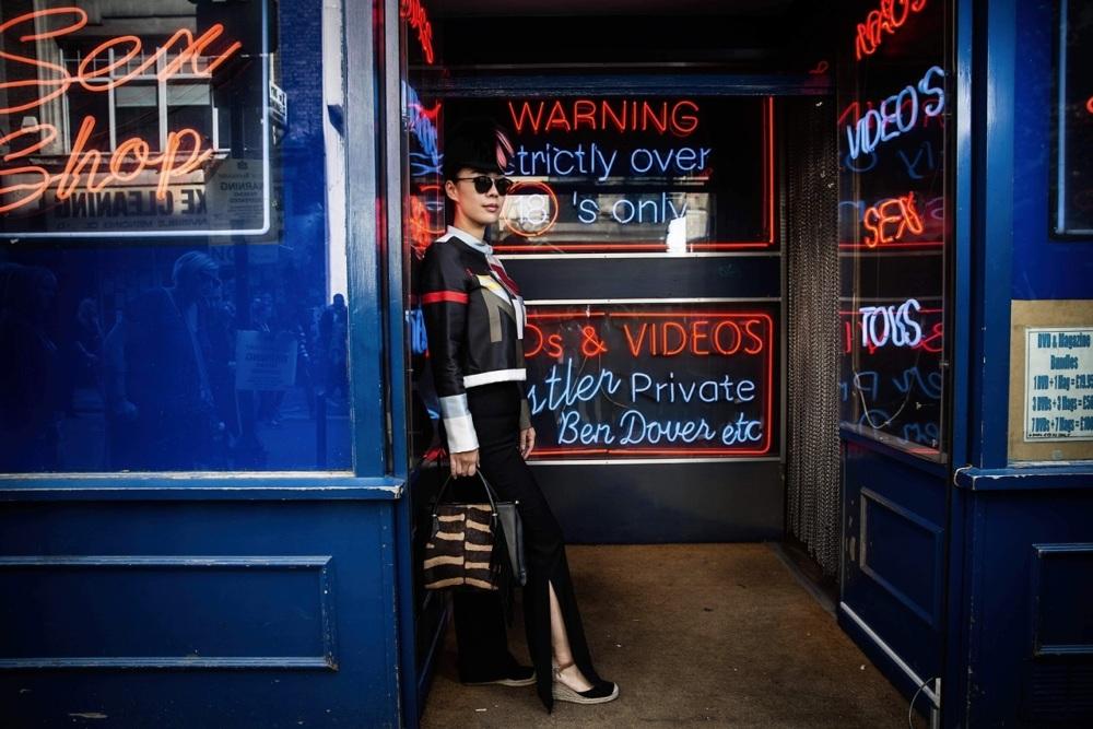 Lisa Li, Fashion publisher, Soho 2015 Photo by Ki Price