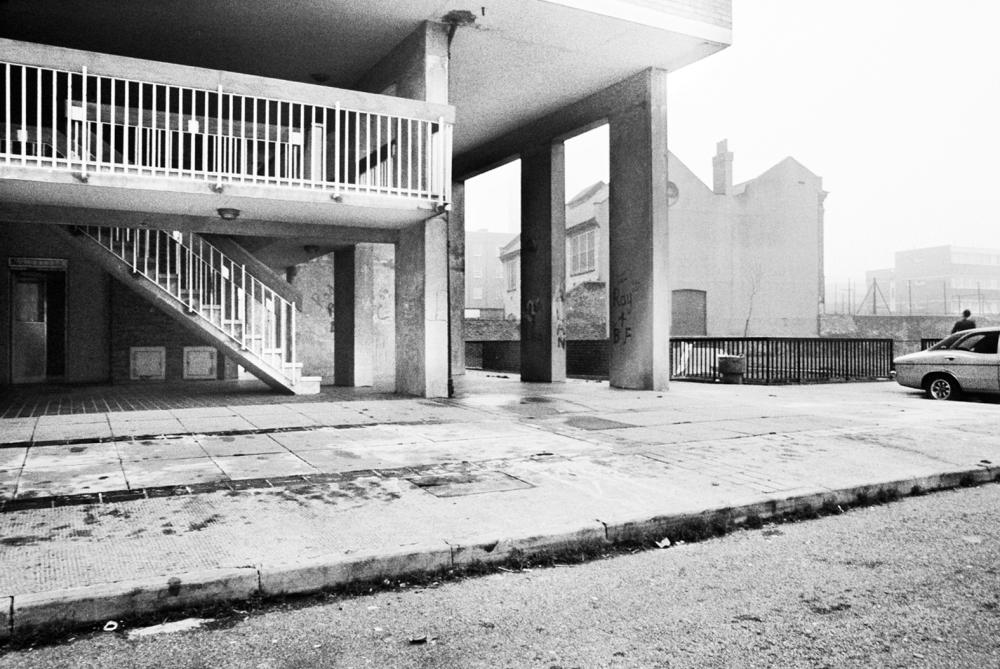 16th Floor Squat (Dixon House, Latimer Road), 1980