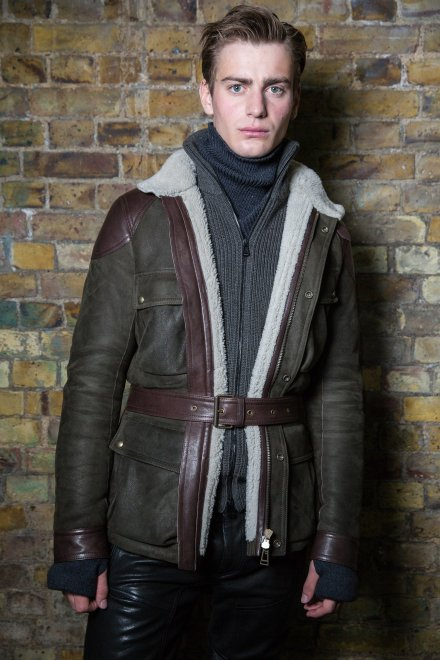 Belstaff backstage AW16 at LCM ( Mens Fashion Week) in London January 10th 2015