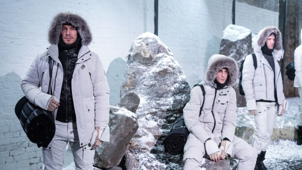 Belstaff Presentation AW16 at LCM ( Mens Fashion Week) in London January 10th 2015