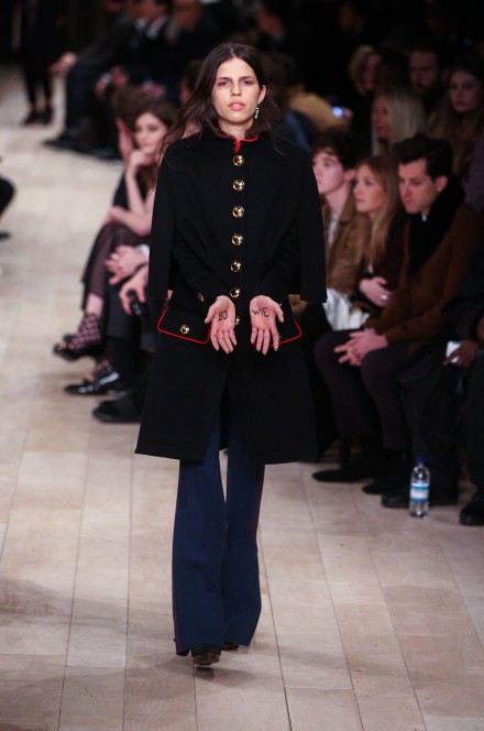 Burberry catwalk AW16 at LCM ( Mens Fashion Week) in London January 11th 2015