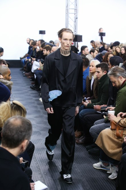 JW Anderson catwalk AW16 at LCM ( Mens Fashion Week) in London January 10th 2015